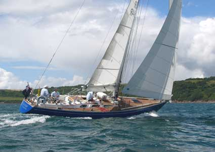 Nautor Swan 44 yacht for charter. New for the 2009 season. Swan 44 Sailing